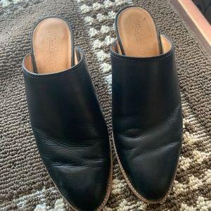 Women's Madewell Harper Mule Black Size 8